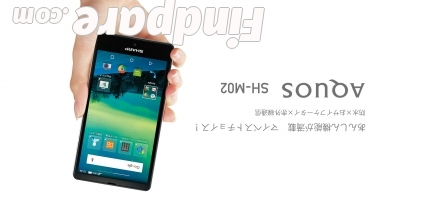 Sharp Aquos SH-M02 smartphone photo 4