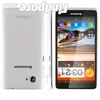 Lenovo A889 smartphone photo 1