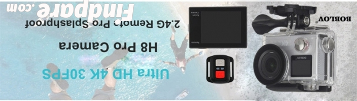 BOBLOV H8 Pro action camera photo 4