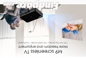 AODIN M9 portable projector photo 6