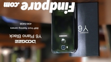 DOOGEE Y6 Piano Black smartphone photo 2