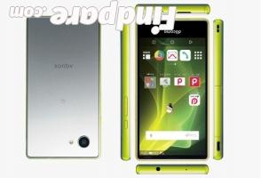 Sharp Aquos Compact SH-02H smartphone photo 1
