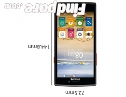 Philips S337 smartphone photo 3