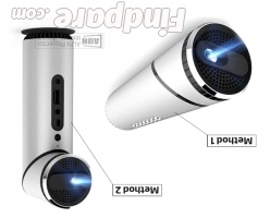 AUN Q9 portable projector photo 3