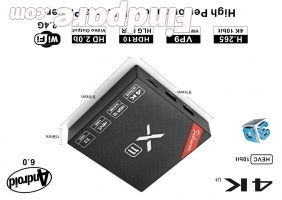 Sidiwen X11 2GB 16GB TV box photo 1