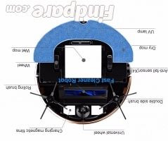 CleanMate QQ6 robot vacuum cleaner photo 2