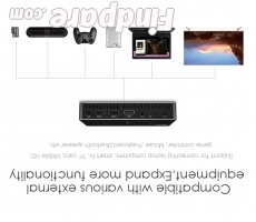 AODIN M9 portable projector photo 2