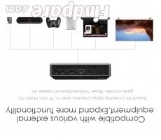AODIN M9 portable projector photo 2
