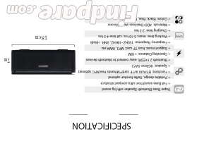 SOMHO S311 portable speaker photo 6
