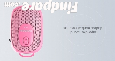 Hyundai i20 portable speaker photo 2