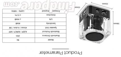 Sardine B6 portable speaker photo 2