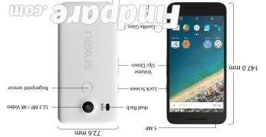 LG Nexus 5X smartphone photo 1