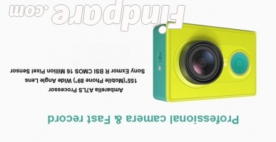 Xiaomi Yi Green action camera photo 4