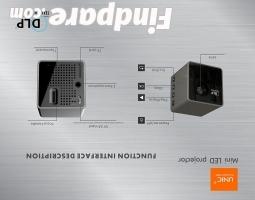 UNIC P1+ portable projector photo 6