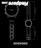 FINOW X7 4G smart watch photo 16