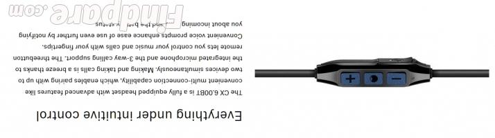 Sennheiser CX 6.00BT wireless earphones photo 6