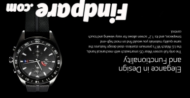 LG W7 smart watch photo 1