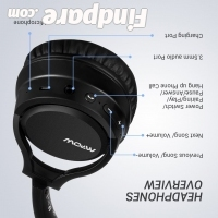 MPOW H7 wireless headphones photo 2