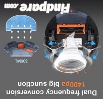 Diggro D300 robot vacuum cleaner photo 6
