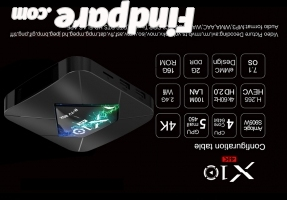 R-TV BOX X10 2GB 16GB TV box photo 3