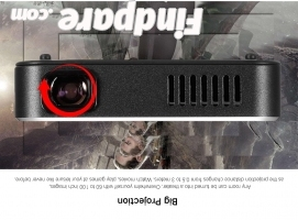 AODIN D16 portable projector photo 3
