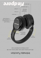 AWEI A950BL wireless headphones photo 8