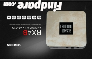 SCISHION RX4B 4GB 32GB TV box photo 1