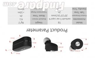 Yuer T8 wireless earphones photo 9
