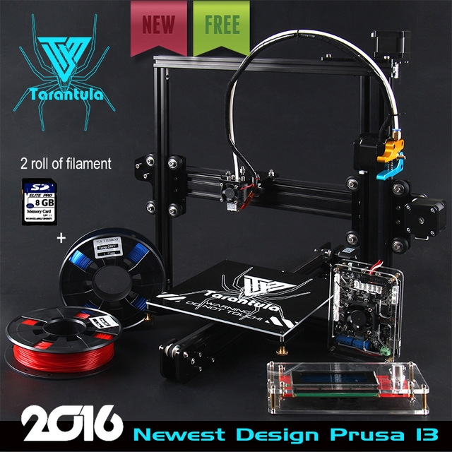 2016 Newest TEVO Tarantula I3 Aluminum Extrusion 3D Printer