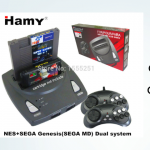 Retro Game Console - HAMY NES+SEGA Genesis/MD 2in1 system