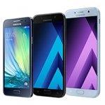 SAMSUNG GALAXY A series 2017; Galaxy A3, A5 and A7