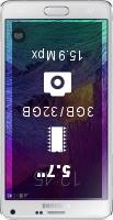 Samsung Galaxy Note 4 N910U Dual SIM smartphone price comparison