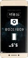 Lenovo LeEco (LeTV) Le Pro 3 4GB 32GB smartphone price comparison