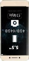 LeEco (LeTV) Le Pro 3 AI X27 smartphone price comparison