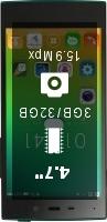 IUNI U2 3GB smartphone price comparison