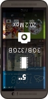 HTC One (M9) 32GB smartphone