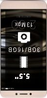 LeEco (LeTV) Le 1s X500 16GB smartphone price comparison
