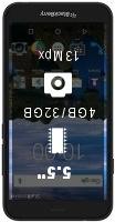 BlackBerry Aurora smartphone price comparison
