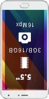 MEIZU MX5E CN 16GB smartphone price comparison