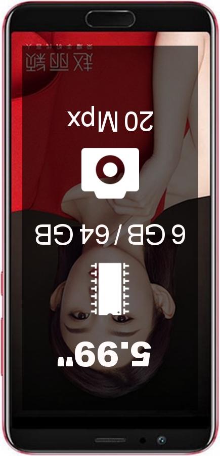 Huawei Honor V10 AL20 6GB 64GB smartphone