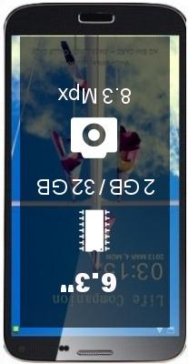 Elephone P6 2GB 32GB smartphone