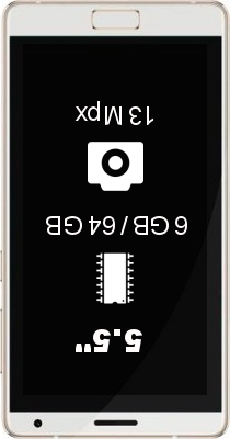 Zuk Edge 6GB 64GB smartphone