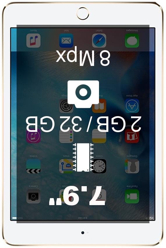 Apple iPad mini 4 32GB 4G tablet