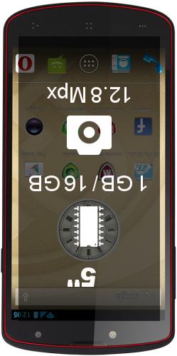 Prestigio MultiPhone 7500 1GB 16GB smartphone