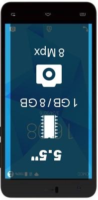 INew U8W smartphone