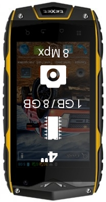 Texet X-driver 4G smartphone