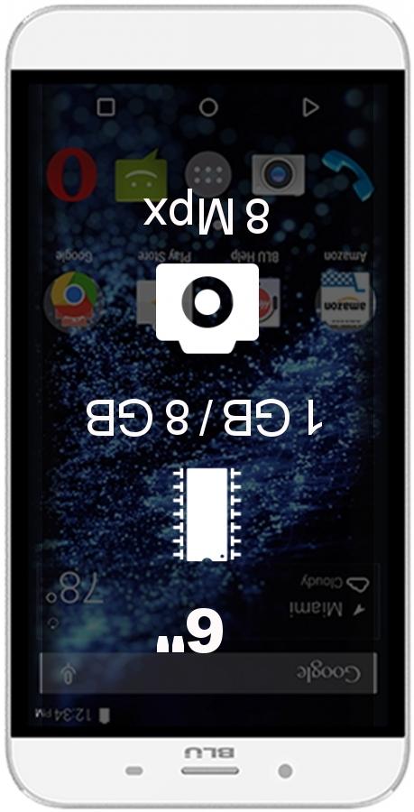 BLU Studio XL 1GB 8GB smartphone