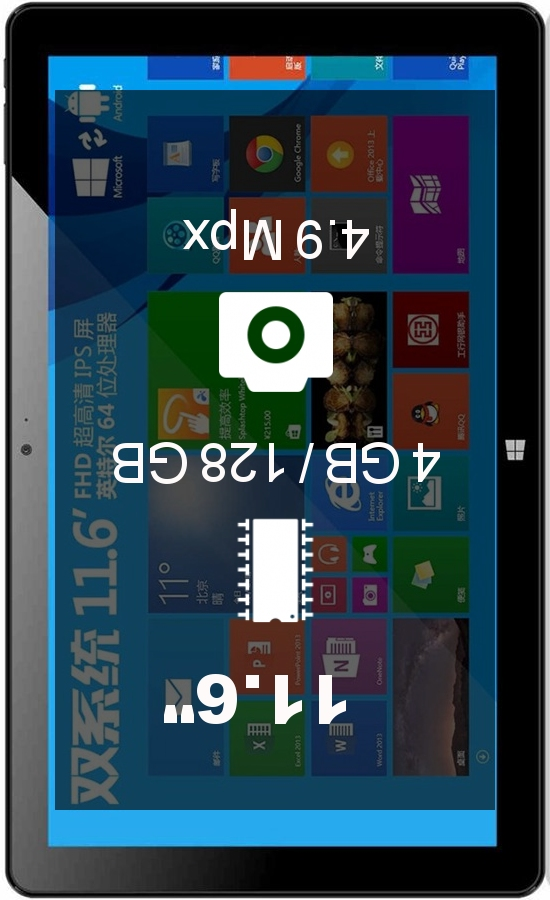 Onda V116w 3G 4GB 128GB tablet