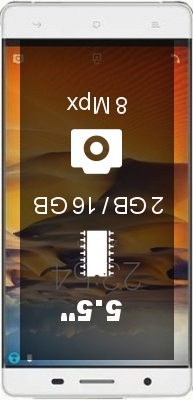 Cubot S550 2GB smartphone