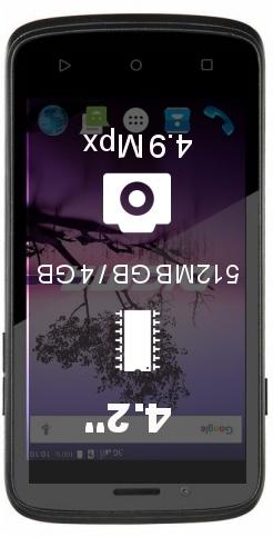 Digma Linx A420 3G smartphone